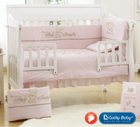 SupreComfort  - Crib Bedding Set CLASEE, 5 Pcs