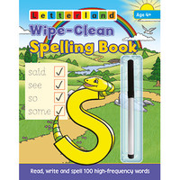 Letterland -  Wipe Clean Spelling Book