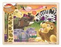 Melissa & Doug - African Plains Jigsaw Puzzle (24 pcs)