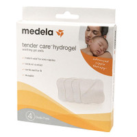 Medela Tender Care Hydrogel Pads, 4pcs ( Exp 06/2021)