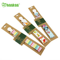 Haakaa Cotton Pacifier Holder (3 Prints)