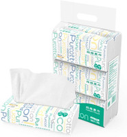 PurCotton Cotton Tissue, 100pcs (20x20cm) - 6 Pack