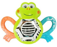 Lucky Baby - Whizzy Activity Rattle, Frog (609620)