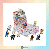 Tokidoki Unicorno Series 6 Blind Box, Mini Figures (1 Carton/24 blind boxes)( Free Display box)