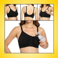 LactaMed EverBeautyBra - Hands-Free Pumping, Nursing, Maternity Bra (4 Sizes)