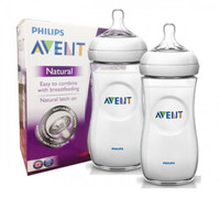 Philips Avent - BPA Free Natural Bottles (11oz / 330ml), Twin Pack