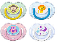 Philips Avent - Classic/Fashion Soother BPA Free 0-6M, Twin Pack (SCF196/18)