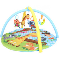 Biba Toys - Baby Activity Playmat, Secret Jungle Round (BB1833)