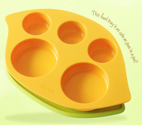 Monee - Silicone Kids Food Tray c/w Suction mat