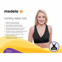 Medela Nursing Sleep Bra - Black