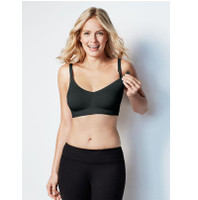 Bravado - Body Silk Seamless Nursing Bra, Black (5 Sizes)