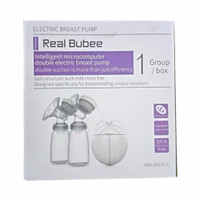 Real Bubee intelligent microcomputer double electric breast pump -2 Mode Suction & Automatic Massage