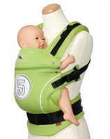 Manduca Baby Carrier Limited Edition, High Five ( Lime) ( Free one pair Fumbee)