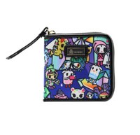 Tokidoki Crystal Kingdom - Small Zip Around Wallet
