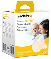 Medela PersonalFit Flex Breast Shields (One pair) - 4 sizes