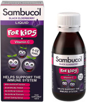 Sambucol Kids Formula Vitamin C For 1-12 Yrs Old, 120ml (UK Version) Exp 04/23 ]