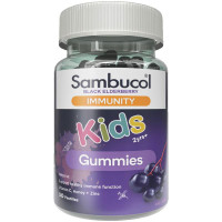 Sambucol Kids Immunity Gummies (AUS Version), 50 Gums - Exp 07/2022