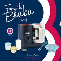 [Special Limited Edition] Beaba Babycook Neo French National Day Set - 5 years warranty