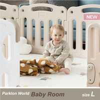 Parklon World Baby Room (Large) - Fits Parklon L Size Play Mat
