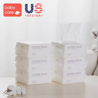 Babycare Cotton Tissue, 100pcs (20 x12cm) - 6 Pack