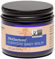 Motherlove Everyday Baby Balm (2 oz.)-Moisturizing Plant-Based, All Natural Herbal Salve for Baby's Delicate Skin, Infused with Soothing Chamomile, Great for All Ages