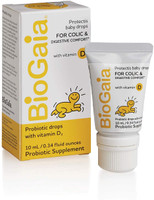 BioGaia ProTectis Baby Drops with Vitamin D for Colic & Digestive Comfort, 10ml