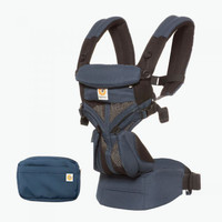 Ergobaby Omni 360 Baby Carrier All-In-One Cool Air Mesh, Raven