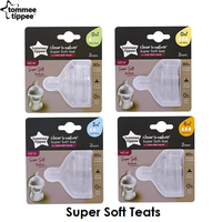 Tommee Tippee Closer to Nature Super Soft Teats (4 Sizes)