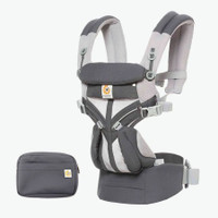 Ergobaby Omni 360 Baby Carrier Cool Air Mesh - Carbon Grey