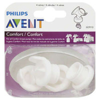 Philips Avent Comfort Breast Pump Valves, 4 Count