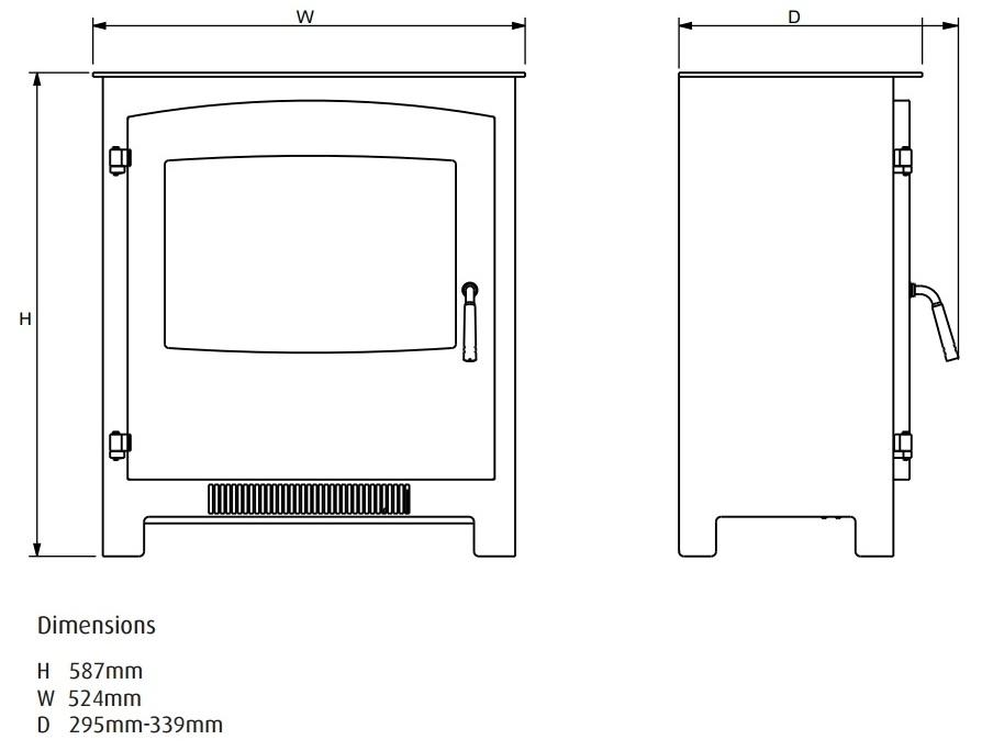 electristove-xd-metal-2-dimensions.jpg