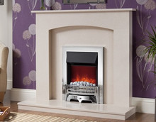 Be Modern Isabelle Marble Fireplace Suite