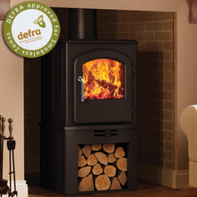 Broseley Fires Serrano 5 SE Multifuel Stove With log Store