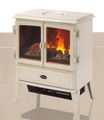 Dimplex Auberry Creamy White Gloss Enamel Finish Opti-myst Electric Stove - AUB20
