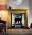 Tulip Tiled Cast Insert - Gallery Fireplace Collection