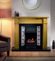 Sovereign Cast Iron Tiled Insert - Gallery Fireplace Collection
