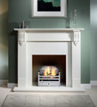 Richmond Agean Limestone Surround - Gallery Fireplace Collection