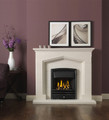 Kendal Limestone Fireplace - Gallery Fireplace Collection