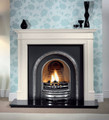 Bartello Agean Limestone Surround - Gallery Fireplace Collection