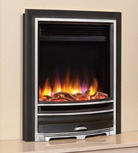Celsi Ultiflame VR Arcadia Electric Fire Silver