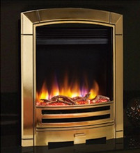 Celsi Ultiflame VR Decadence Electric Fire Brass
