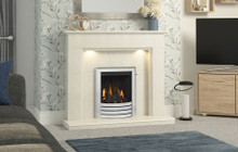 Be Modern Madalyn Marble Fireplace