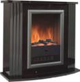 Dimplex Mozart Black Electric Fireplace Suite