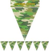 CAMO FLAG BANNER 3.6m (12')