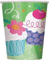 CUPCAKE 8 x 270ml (9oz) PAPER CUPS