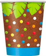 JUNGLE PARTY 8 x 270ml (9oz) PAPER CUPS