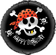 "PIRATE FUN 45cm (18"") FOIL BALLOON PACKAGED"