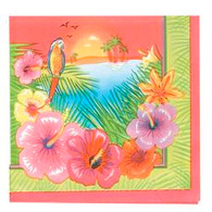 LUAU PARTY 16 LUNCHEON NAPKINS