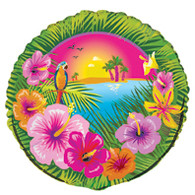 "LUAU PARTY 45cm (18"") FOIL BALLOON PACKAGED"