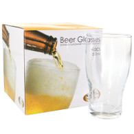4PK PINT GLASSES 530ml